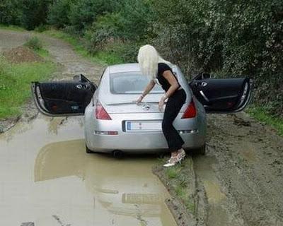 блондинка гаф с кола